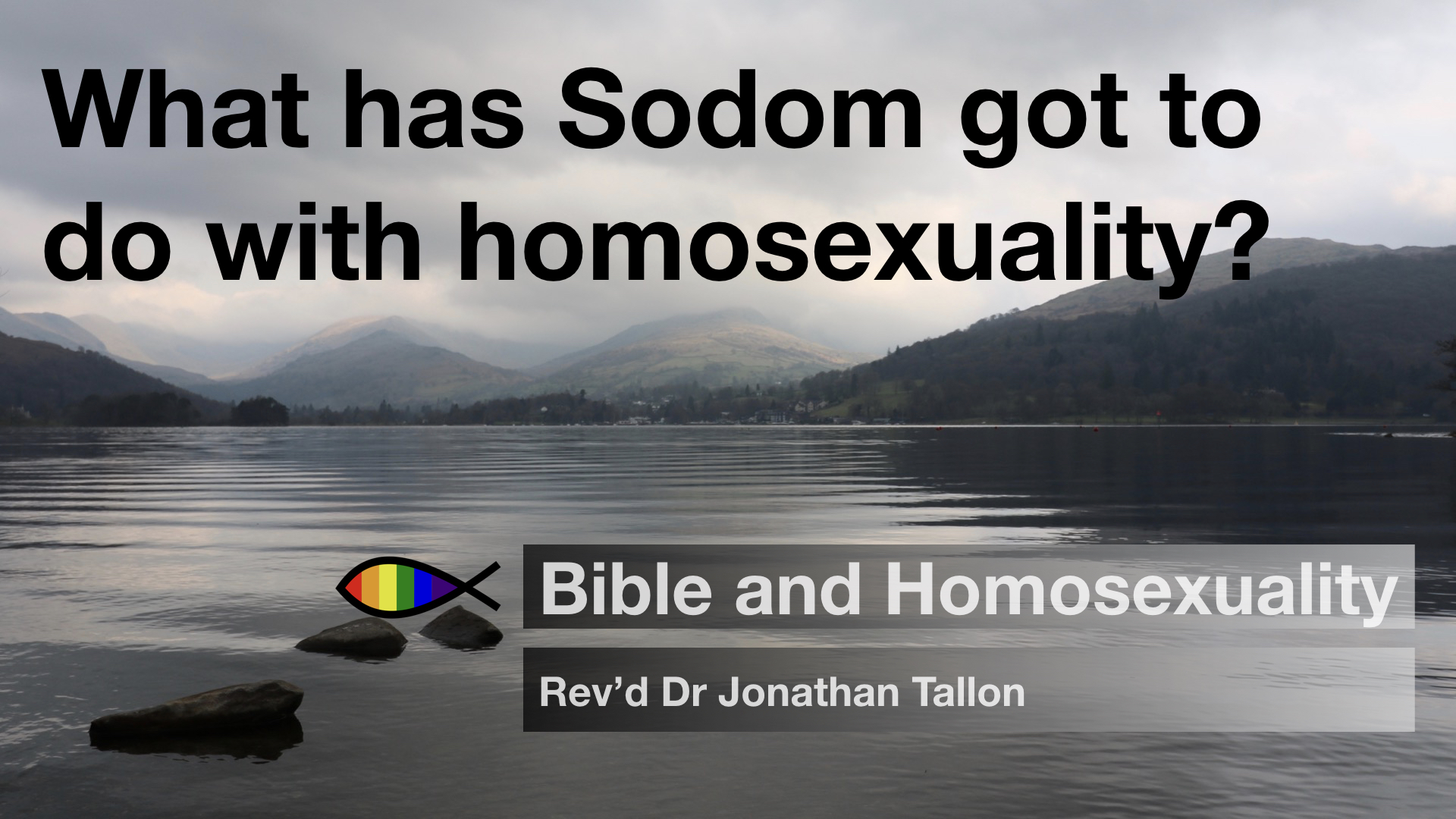 What has Sodom got to do with homosexuality? | Bible and