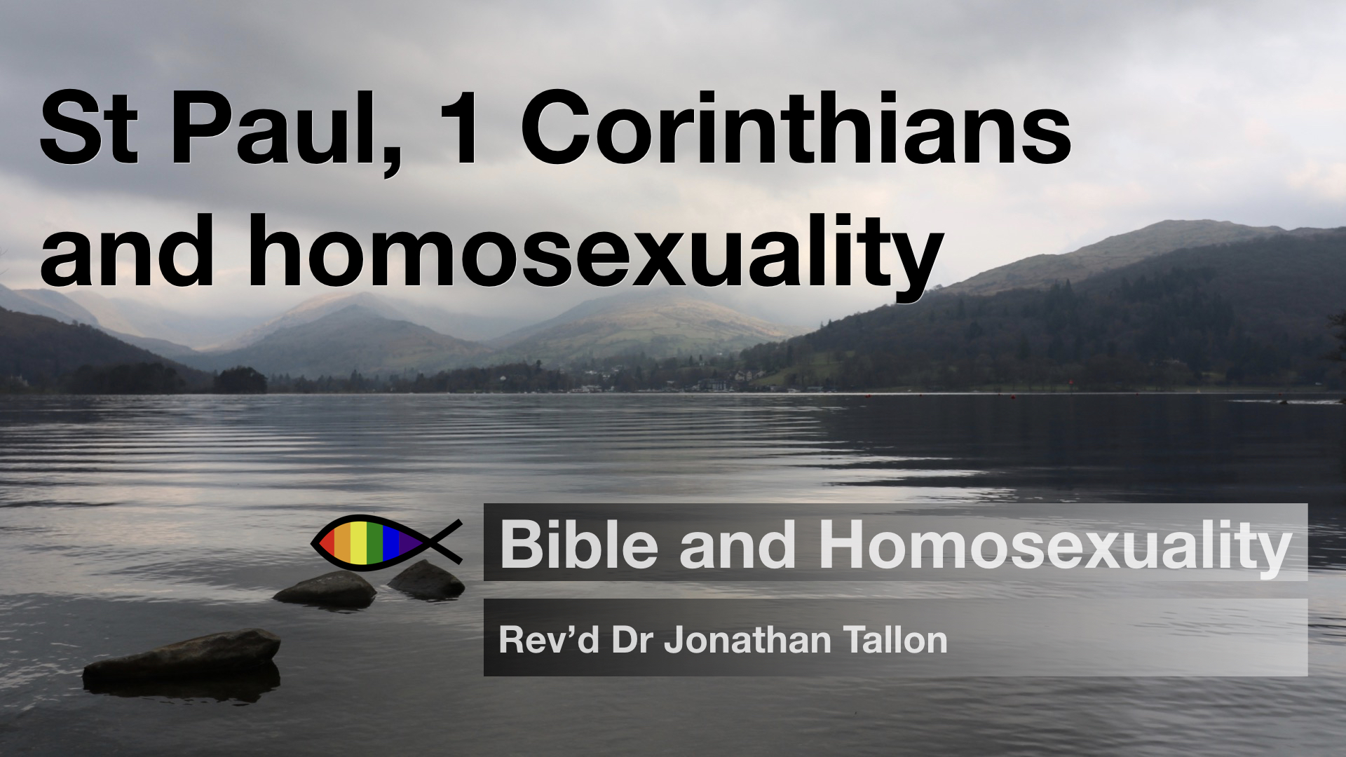 what does the bible say about homosexuality in romans